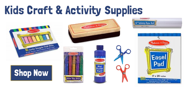 View all our Kids Craft and Activity Kits and Supplies